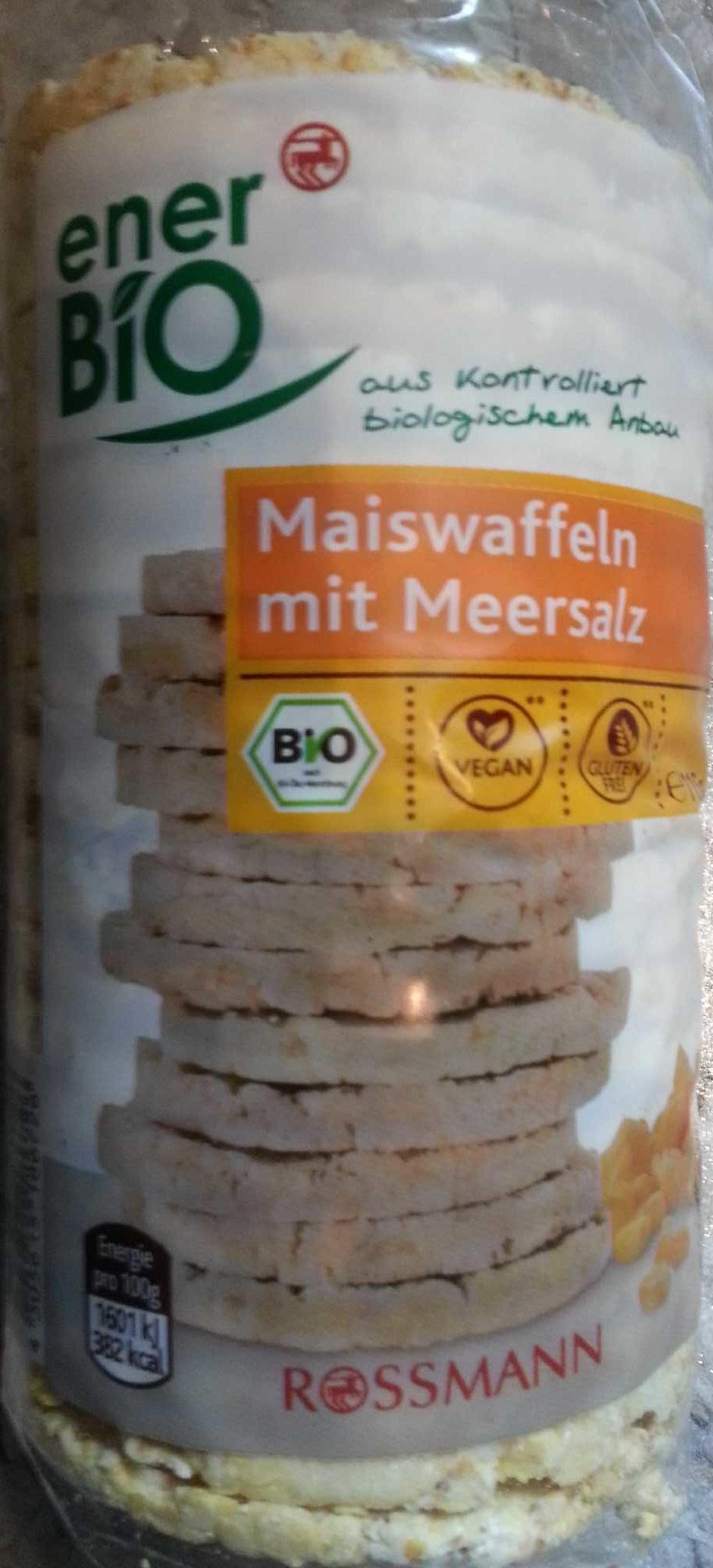 Maiswaffeln mit Meersalz - Produit - de