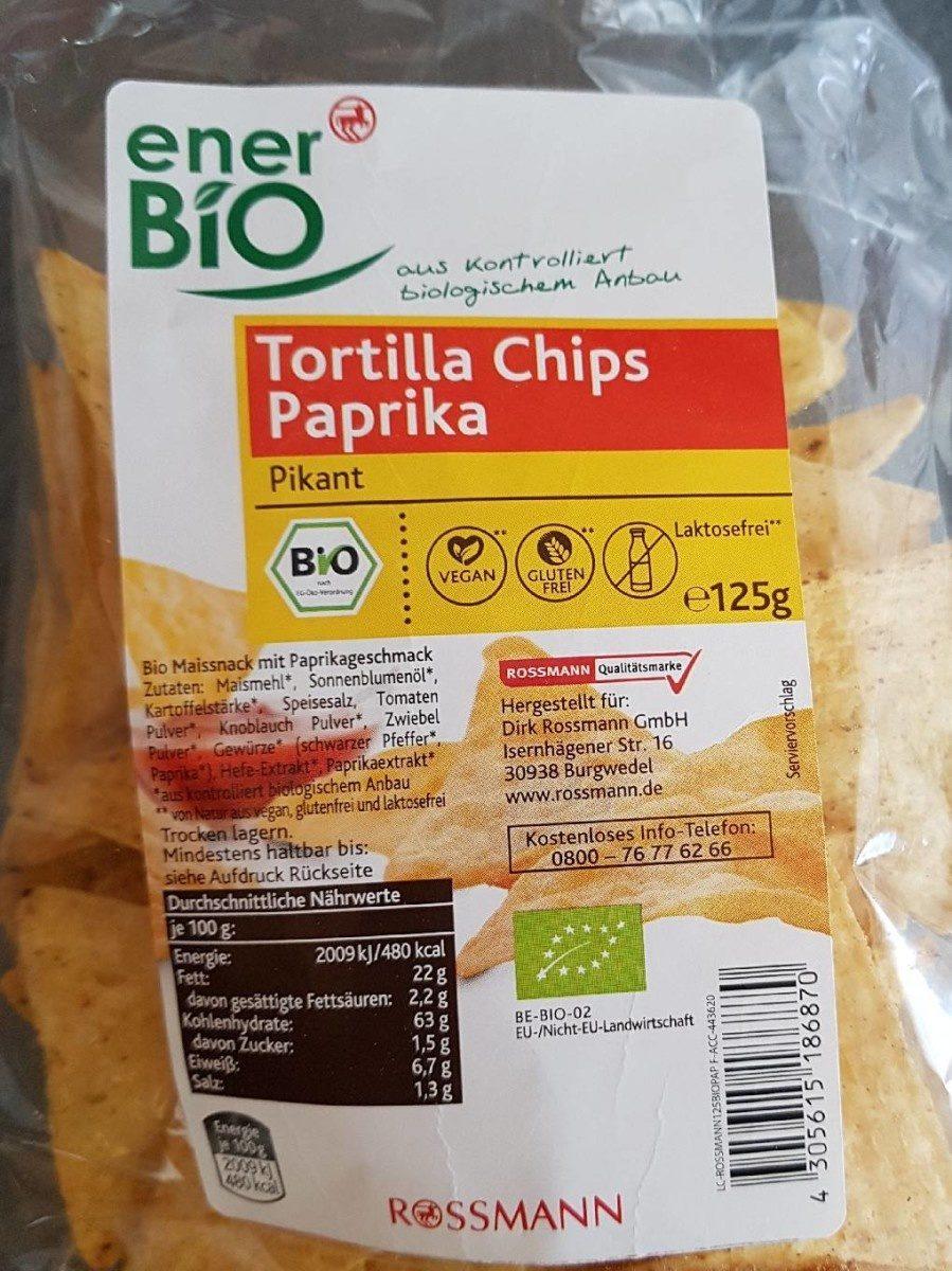 tortilla chips paprika - Produit