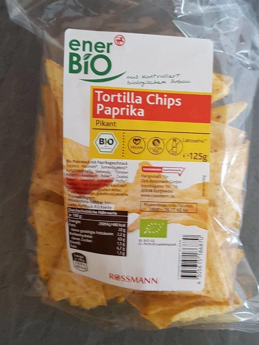 tortilla chips paprika - Informations nutritionnelles