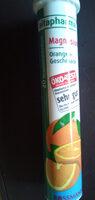 Brausetabletten Orangengeschmack - Product