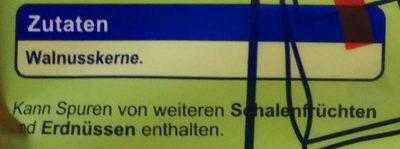 Walnusskerne - Ingredients