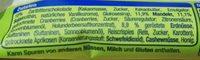 Nuss-Frucht-Riegel Erdnuss & Cranberry - Ingredients