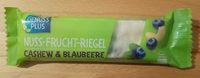 Nuss-Frucht-Riegel Cashew & Blaubeere - Product