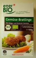 Gemüse-Bratlinge - Product