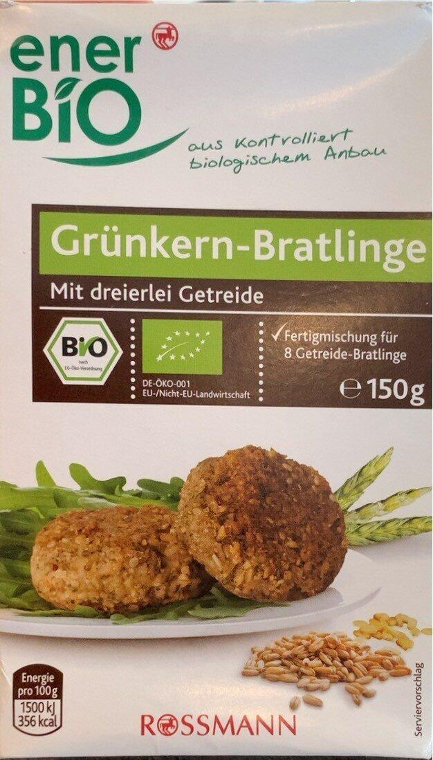 Grünkern-Bratlinge - Produkt - de