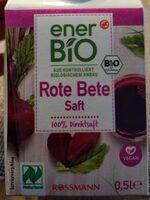 Rote Bete Saft - Product - en