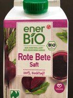 Rote Beetesaft Bio - Product - en