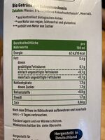 Kokos Drink Natur - Nutrition facts - en