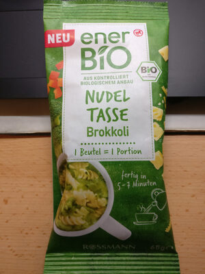Nudeltasse Brokkoli - Product