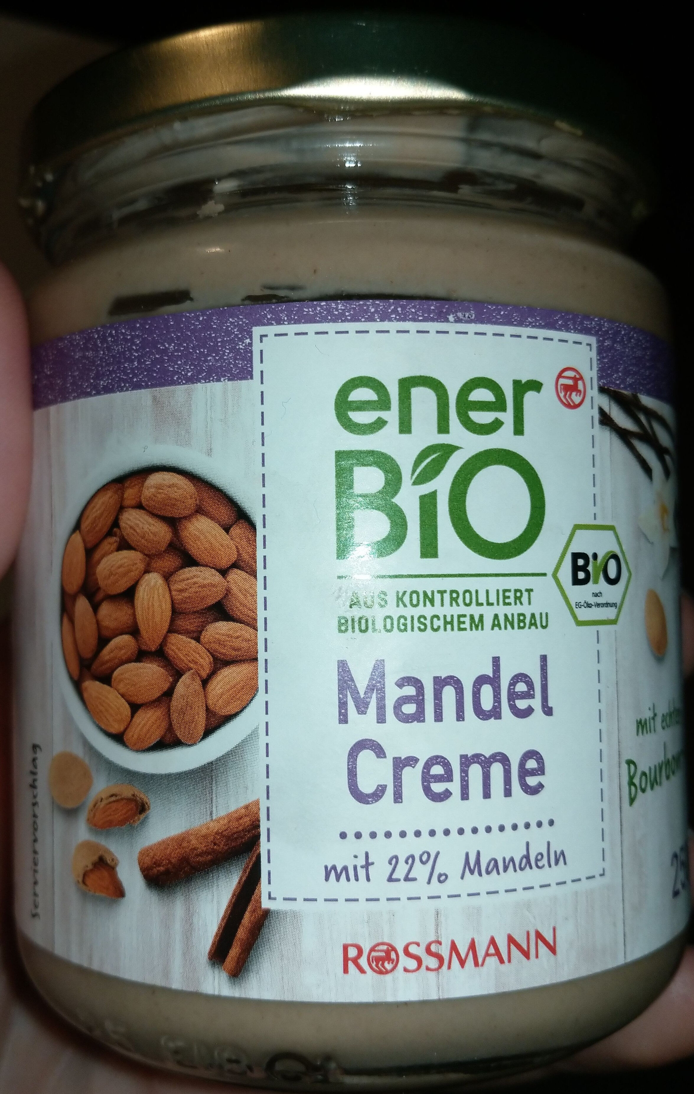 Mandel Creme - Product