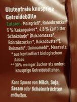 Schoko balls - Zutaten - de