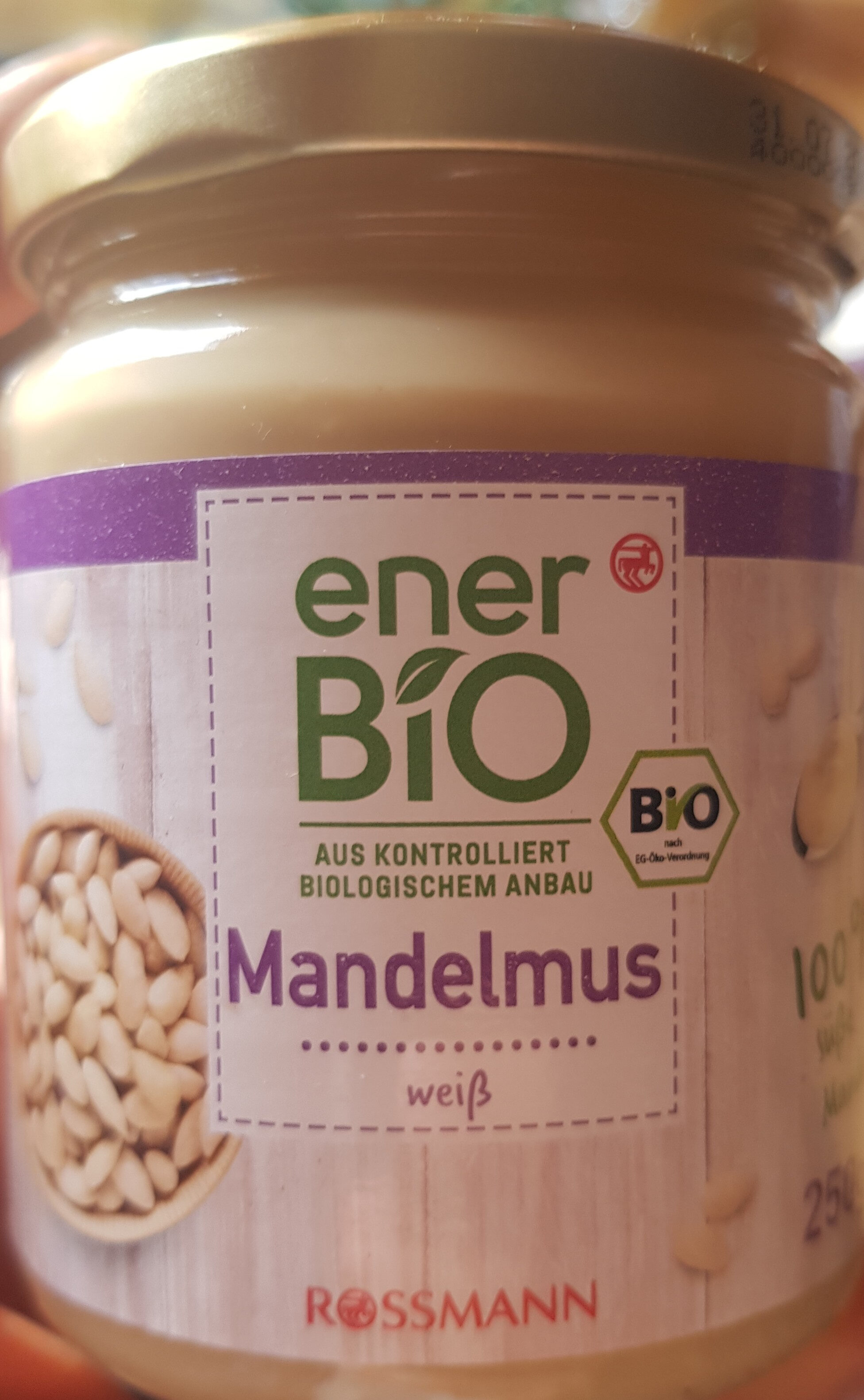 Mandelmus weiß - Produkt - de