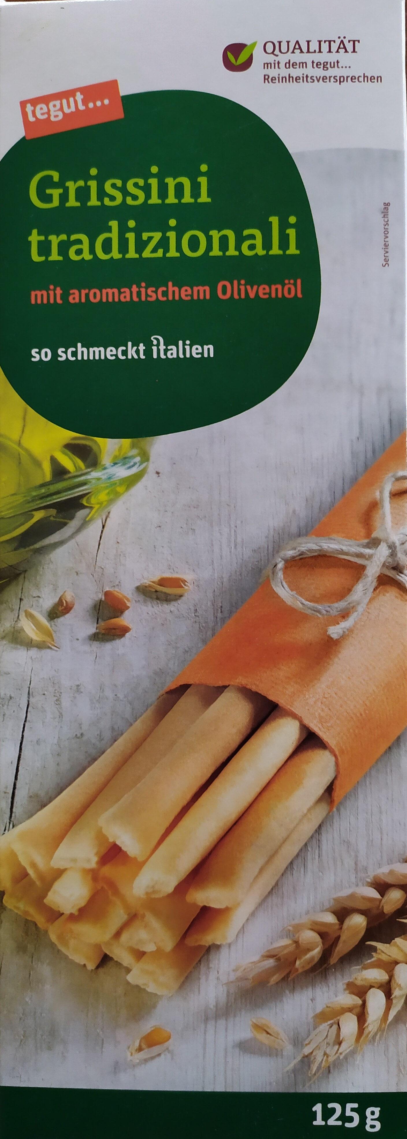 Grissini tradizionali - Product