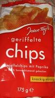 geriffelte chips - Produkt