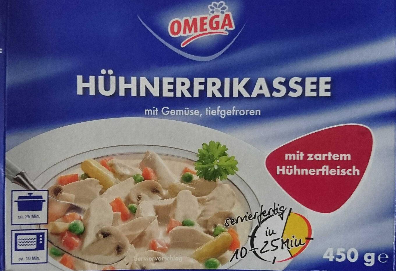 Hühnerfrikassee mit Gemüse, tiefgefroren - Product - de