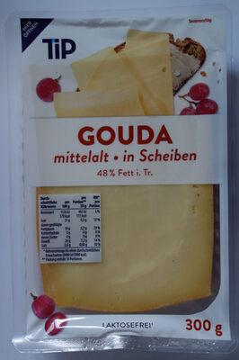 Gouda mittelalt, in Scheiben - Product - de
