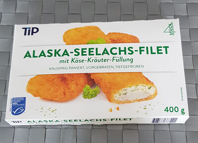 Alaska-Seelachs-Filet mit Käse-Kräuter-Füllung - Product - de