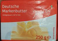 Deutsche Markenbutter - Beurre - Product - fr