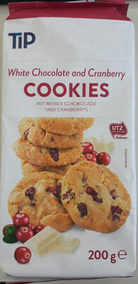 White Chocolate and Cranberry COOKIES - Produkt - de