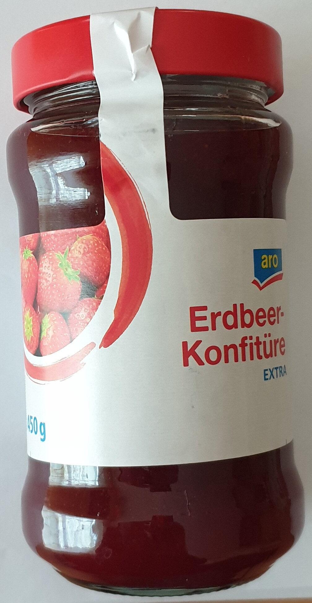 Erdbeer-Konfitüre Extra - Produit - de