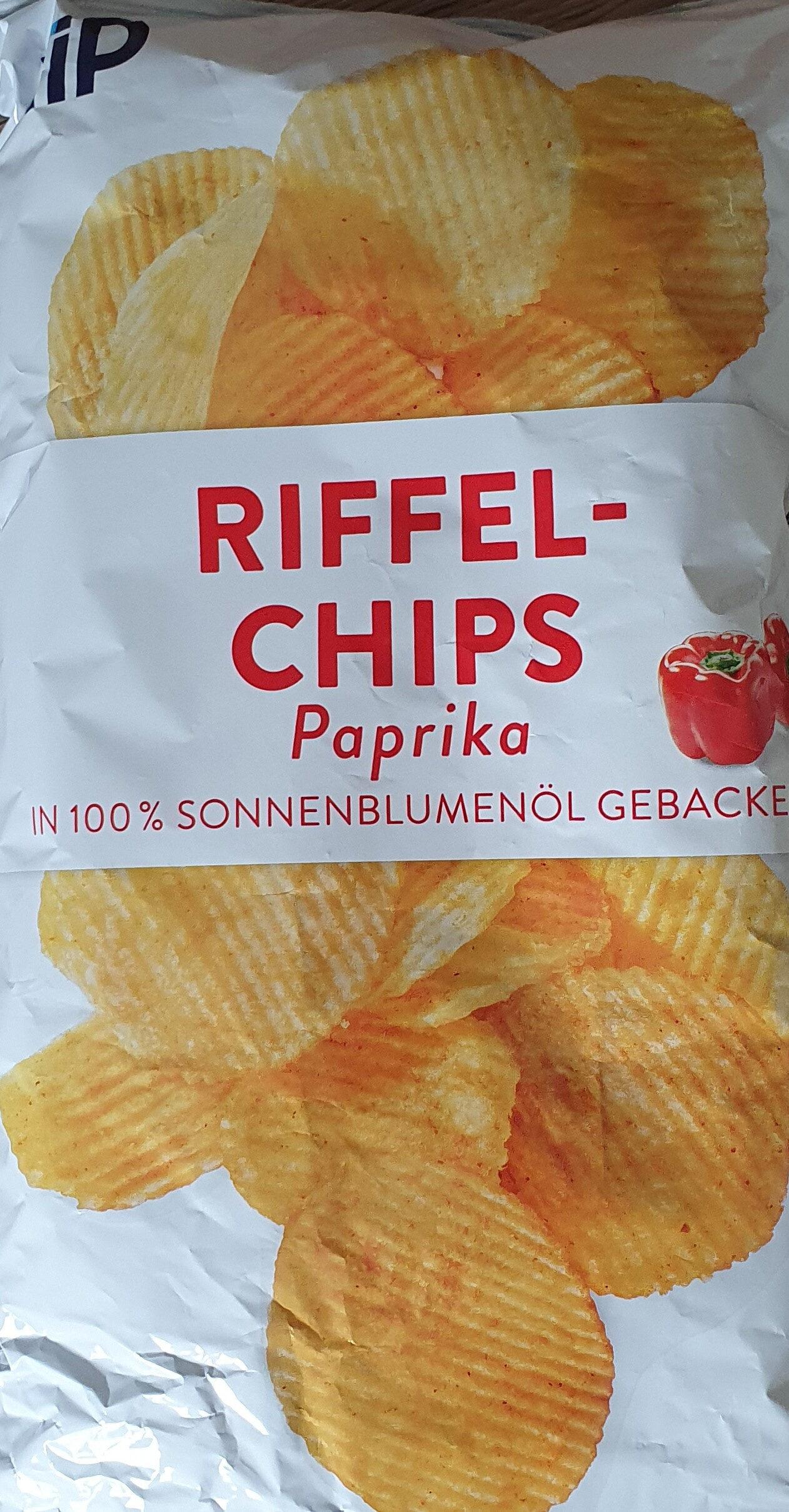 RIFFEL-CHIPS Paprika - Product - de