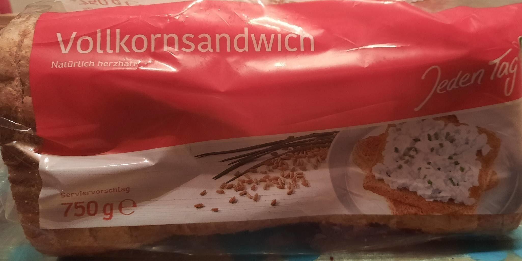 Vollkornsandwich - Produkt - de