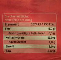 Vollkornsandwich - Nährwertangaben - de