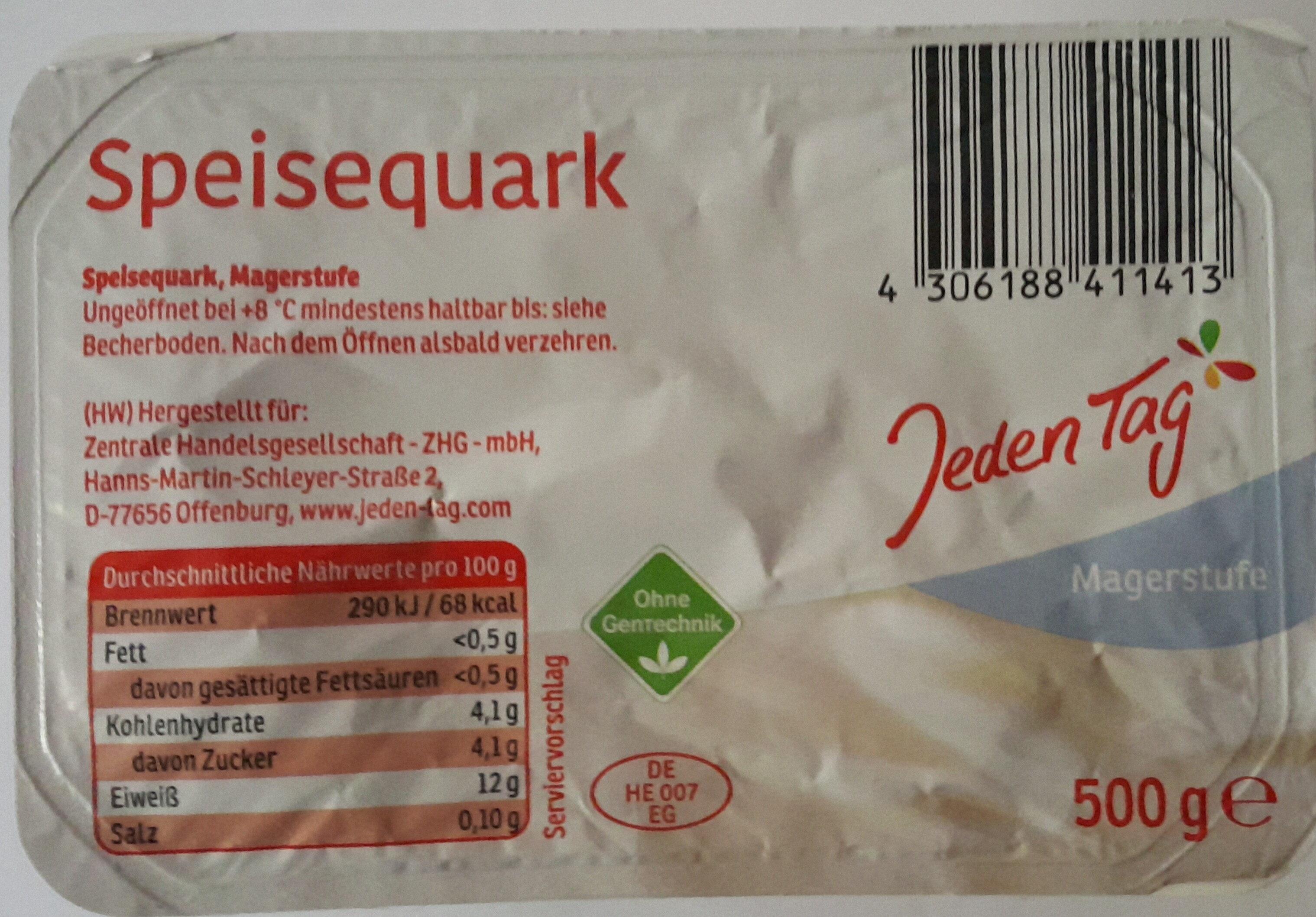 Speisequark, Magerstufe - Product