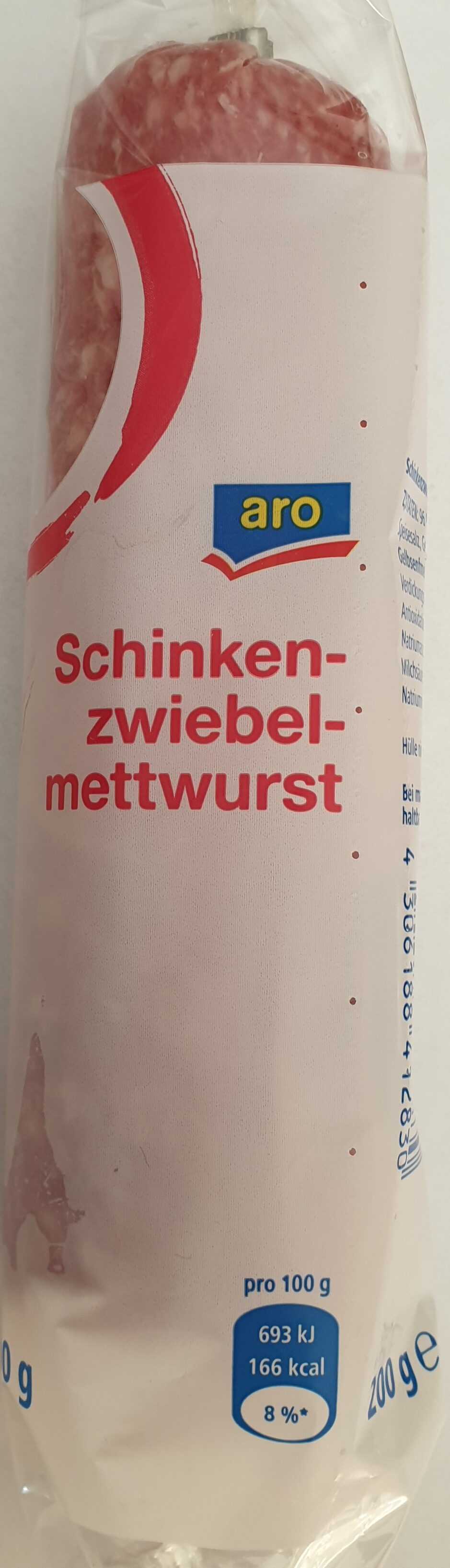 Schinkenzwiebelmettwurst - Produit - de
