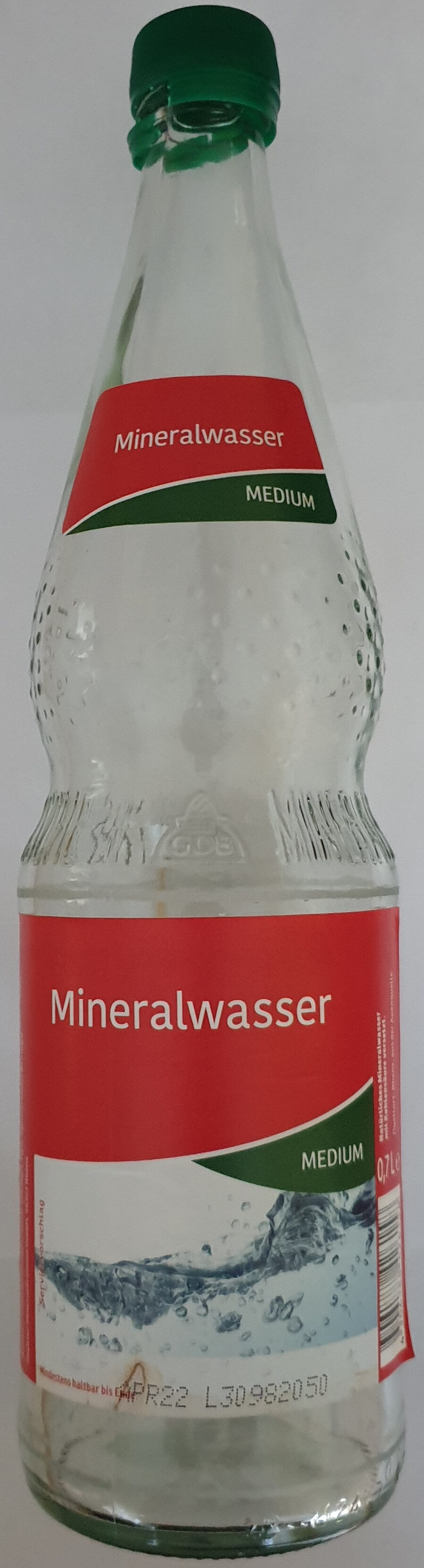 Mineralwasser medium - Product - de