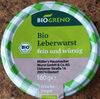 Bio Leberwurst fein und würzig - Produit