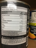 Mandarin-Orangen - Ingredienti - de