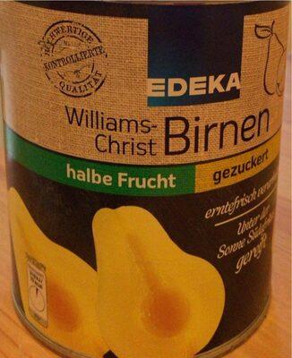 Williams Christ Birnen Gezuckert, Halbe Frucht - Product - de