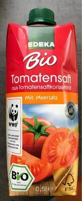 Edeka Bio Wertkost Tomatensaft, Mit Meersalz - Produit