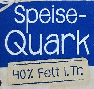 Speisequark 40% Fett i. Tr. - Inhaltsstoffe