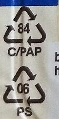 Speisequark 40% Fett i. Tr. - Istruzioni per il riciclaggio e/o informazioni sull'imballaggio - de