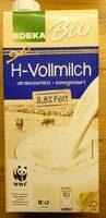 H-Vollmilch 3,8% Fett - Prodotto - de