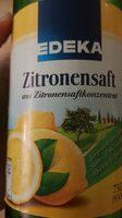 Zitronensaft - Produit