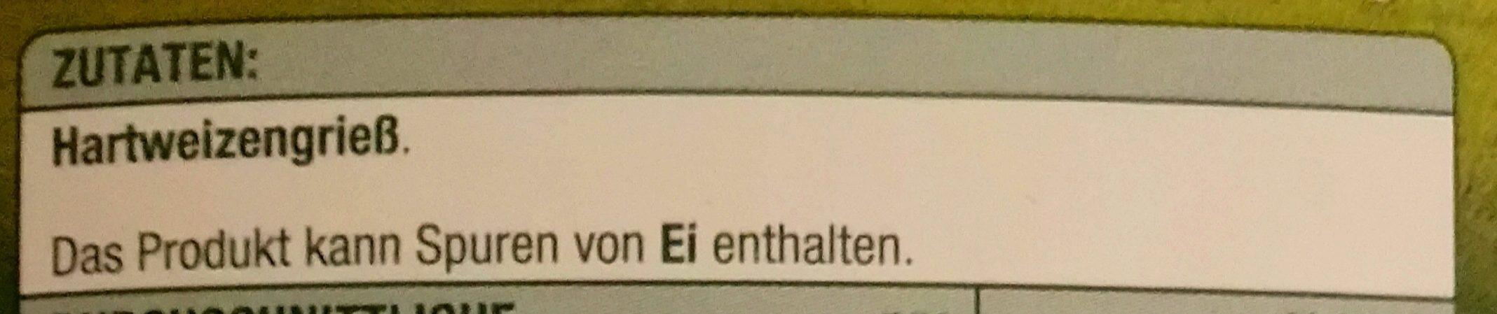 Cannelloni N.64 - Ingrediënten
