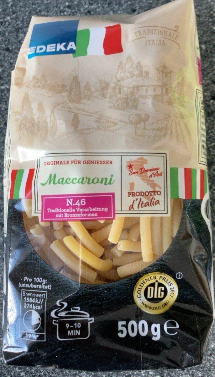 Maccaroni - Prodotto - de