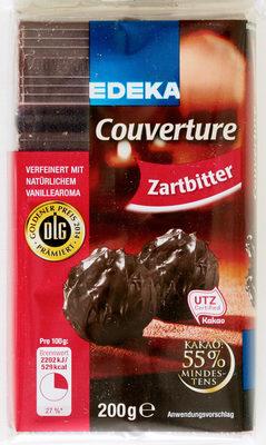 Couverture Zartbitter - Edeka - 200 G - Prodotto - de