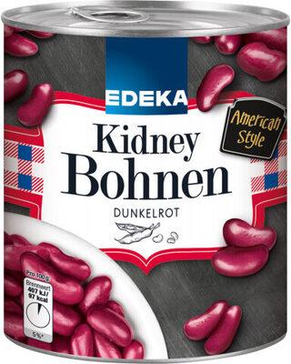 Kidney Bohnen - dunkelrot - Produkt - de