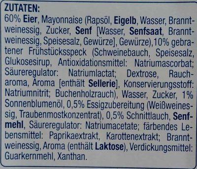 Feinster Eiersalat mit Bacon & Schnittlauch - Ingredients