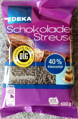 Schokoladen Streusel - Product