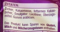 Schokoladen Streusel - Ingredients