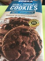 Edeka double chocolate cookies - Product