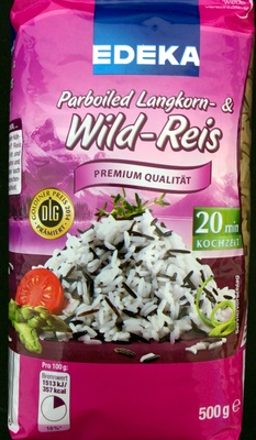 Parboiled Langkorn- & Wild-Reis - Produkt