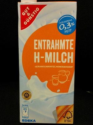 entrahmte H-Milch - Prodotto - de