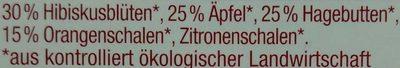 Bio Früchte - Ingredients