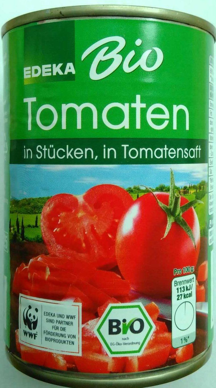 Tomaten in Stücken, in Tomatensaft - Product